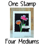 Video Series: One Stamp, Four Designs, Four Mediums – Card #2